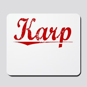 Karp, Vintage Red Mousepad