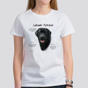Black Lab Women's Classic White T-Shirt