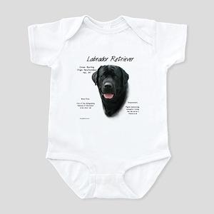 Black Lab Baby Light Bodysuit