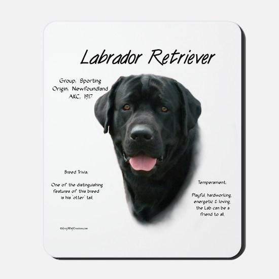 Black Lab Mousepad