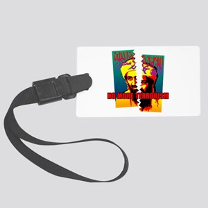 Terrorism Large Luggage Tag
