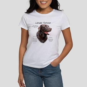Chocolate Lab Women's Classic White T-Shirt