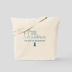 Teal Family Tote Bag