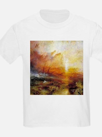 Slave Ship by Turner T-Shirt