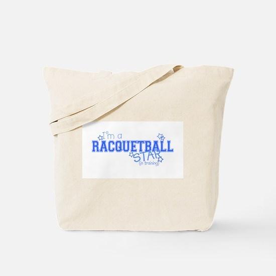 Racquetball star Tote Bag