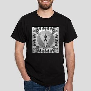 Leonardo da skull Dark T-Shirt