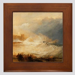 Wreckers on the coast of Northumberland by Turner