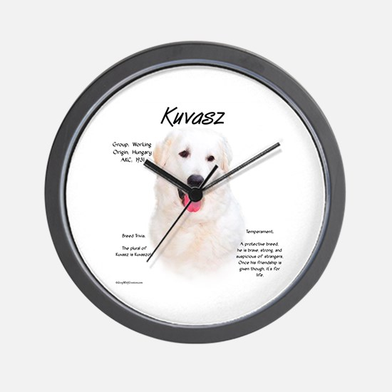 Kuvasz  Wall Clock