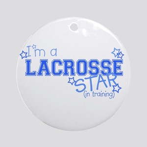 Lacrosse star Ornament (Round)