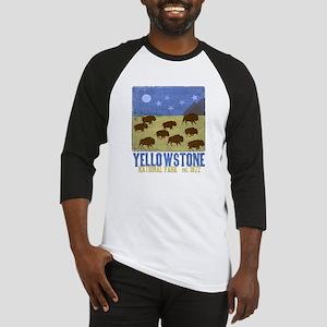 Yellowstone Park Night Sky Baseball Jersey