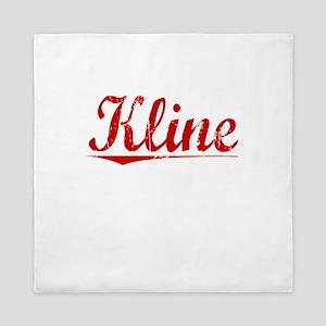 Kline, Vintage Red Queen Duvet