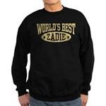 World's Best Zadie Sweatshirt (dark)