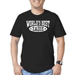 World's Best Zadie Men's Fitted T-Shirt (dark)