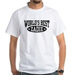 World's Best Zadie White T-Shirt