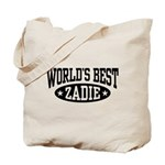 World's Best Zadie Tote Bag