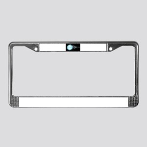 Water Bubbles 2018 License Plate Frame