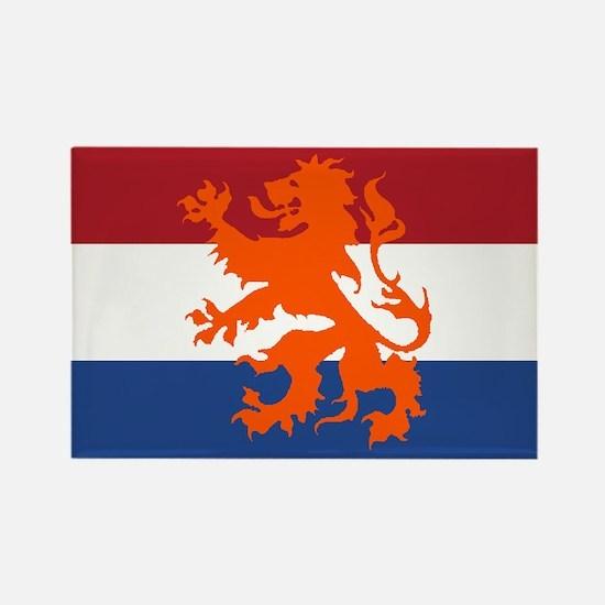 Holland Lion Rectangle Magnet