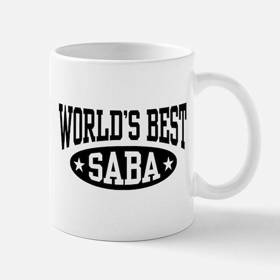 World's Best Saba Mug