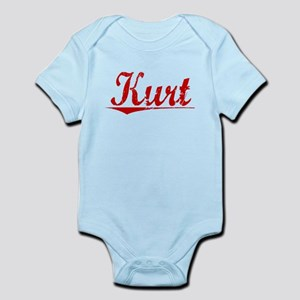 Kurt, Vintage Red Infant Bodysuit