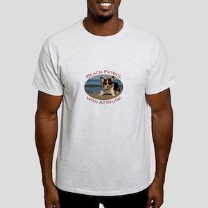 Beach Patrol with Attitude Light T-Shirt