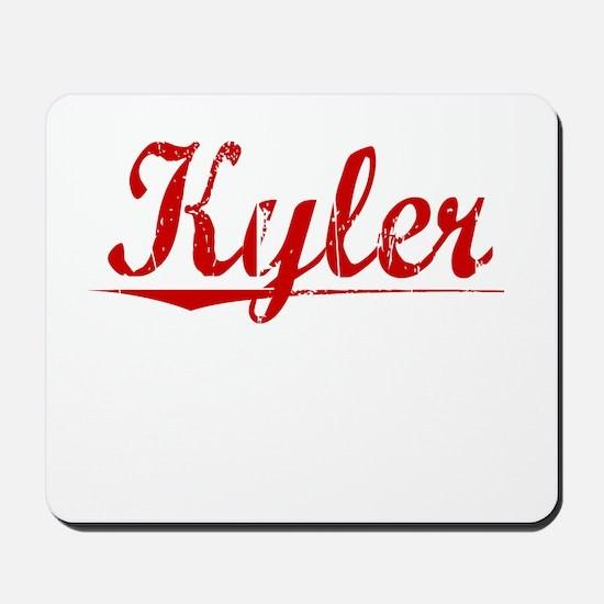 Kyler, Vintage Red Mousepad