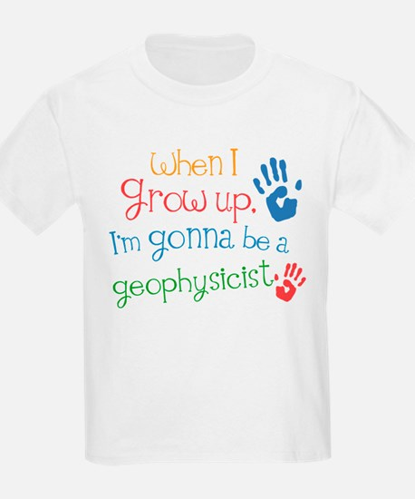Kids Future Geophysicist T-Shirt