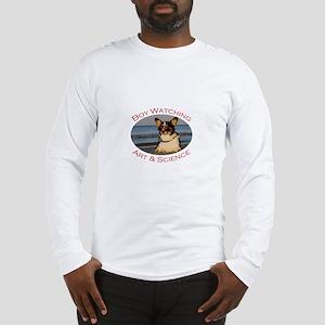 Boy Watching Art & Science Long Sleeve T-Shirt