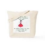 I Told Santa Tote Bag