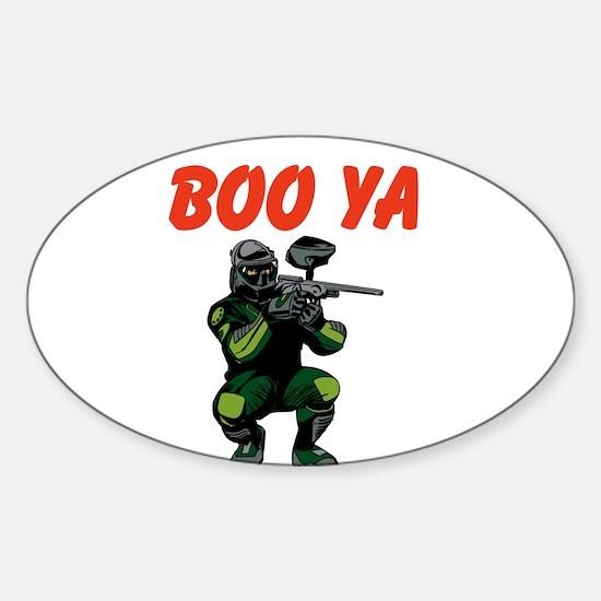 Boo Ya Sticker (Oval)
