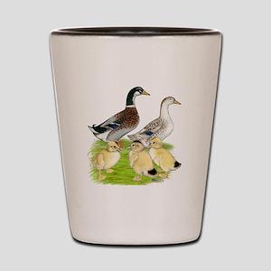 Appleyard Duck Family Shot Glass
