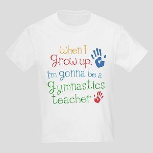 Future Gymnastics Teacher Kids Light T-Shirt