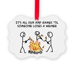 Fun And Games Picture Ornament