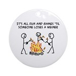 Fun And Games Ornament (Round)