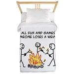Fun And Games Twin Duvet