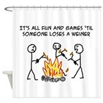 Fun And Games Shower Curtain