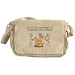 Fun And Games Messenger Bag