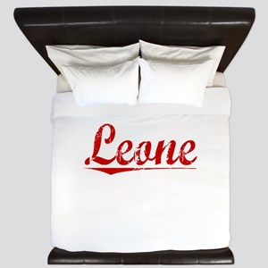 Leone, Vintage Red King Duvet
