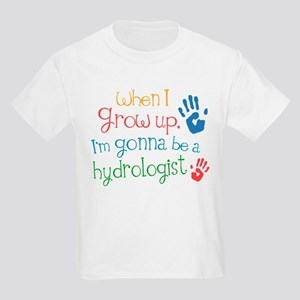 Kids Future Hydrologist Kids Light T-Shirt