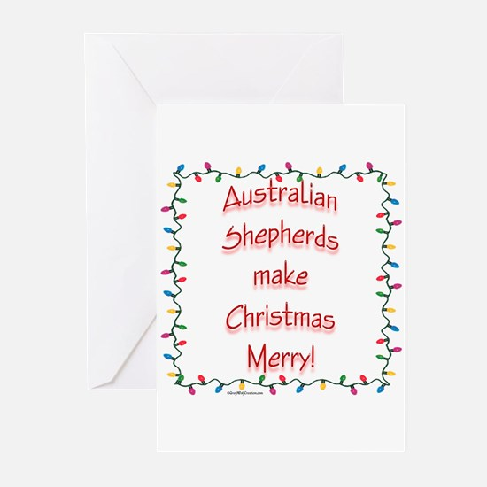Aussie Merry Greeting Cards (Pk of 10)