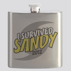 I Survived SANDY Flask