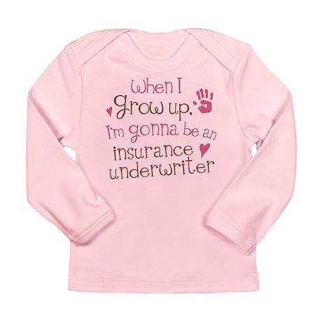 Future Insurance Underwriter Long Sleeve Infant T-