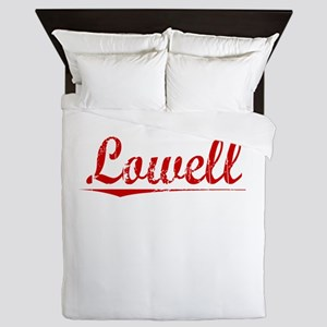 Lowell, Vintage Red Queen Duvet