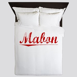 Mabon, Vintage Red Queen Duvet