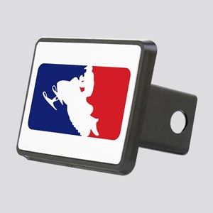 Major League Snowmobiler Rectangular Hitch Cover