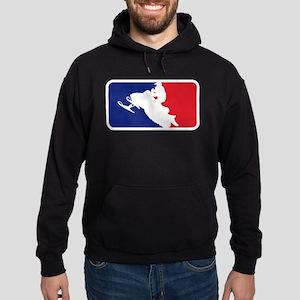 Major League Snowmobiler Hoodie (dark)