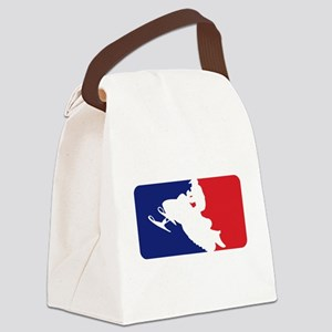 Major League Snowmobiler Canvas Lunch Bag
