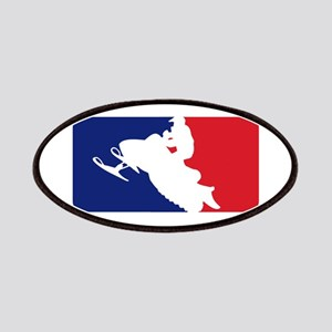 Major League Snowmobiler Patches