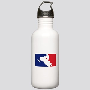 Major League Snowmobiler Stainless Water Bottle 1.
