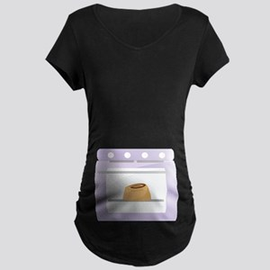Bun In The Oven Pregnancy Maternity Dark T-Shirt