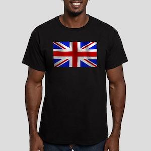 United Kingdom Men's Fitted T-Shirt (dark)